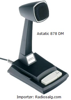 Astatic 878 DM bordmikrofon