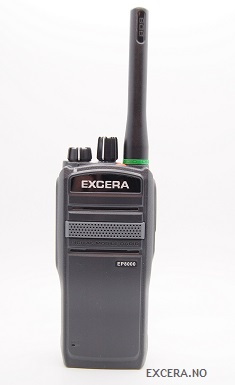 Excera EP8000 - DMR - IP67, GPS, Bluetooth, Mand Down