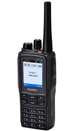Excera EP8100 DMR , IP67, GPS, Bluetooth, Man Down
