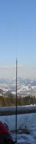 AM PRO 80 Monob�nd antenne - 3.5 - 3.8 Mhz