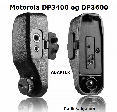Motorola adapter DP3400