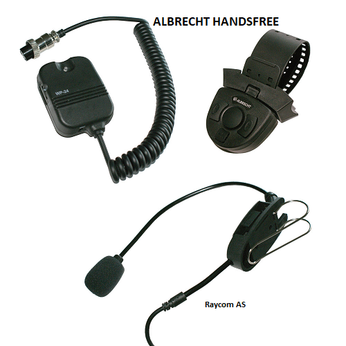 Albrecht WP24 handsfree til walkie talkie