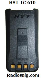 HYT TC 610 Batteri