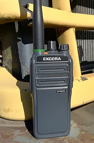 Excera EP5000 DMR, IP67, Bluetooth, MAN DOWN