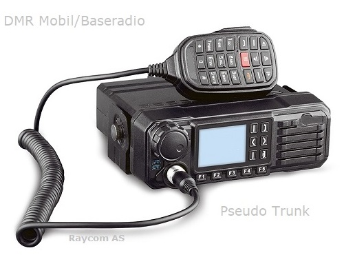 DMR Mobil/Baseradio TM8250 - Pseudo Trunk (Repeater)