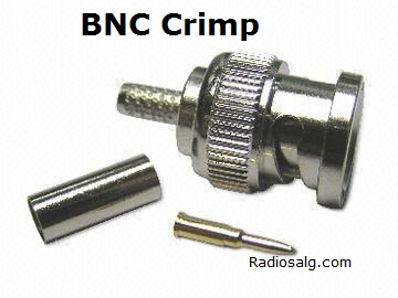 BNC Crimp plugg