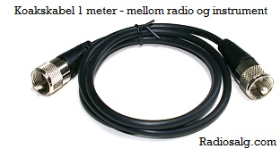 RG58 CX patch kabel 1m