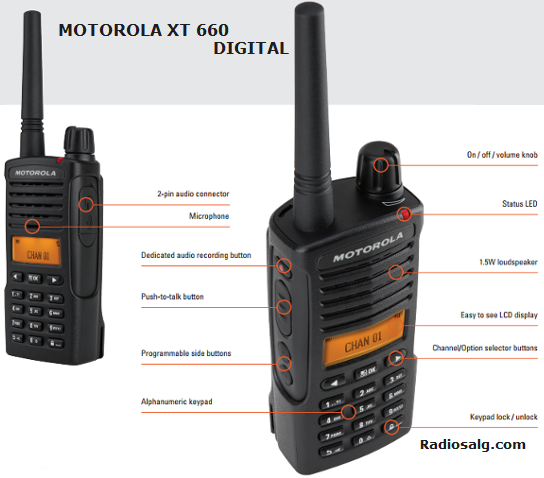 Motorola XT 660 D Digital 446