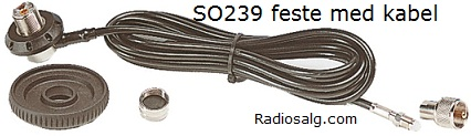 Sirio SG-AC/U antennefeste (SO239)