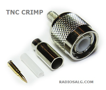 TNC crimp plugg